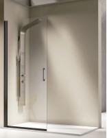 Mampara de ducha panel fijo abatible modelo SALÓNICA de Kassandra