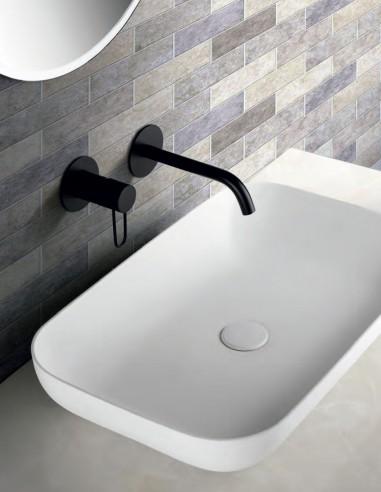 Grifo lavabo empotrado pared modelo MILOS de Imex