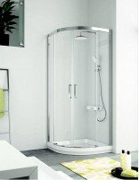 Mampara semicircular ducha - sin perfil inferior modelo s400 de Kassandra