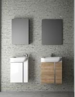 Mueble baño suspendido fondo reducido modelo VERSA de Coycama