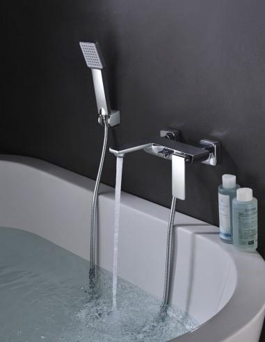 Set de ducha para bañera modelo FIYI cromo de Imex