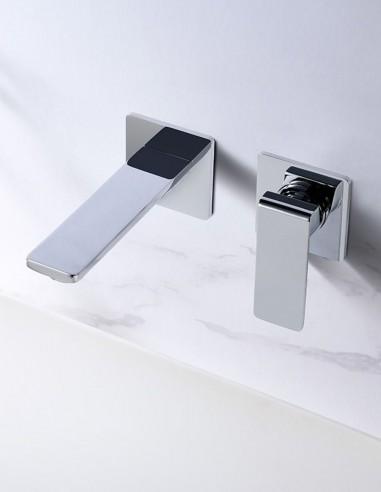 Grifo lavabo empotrado pared FIYI