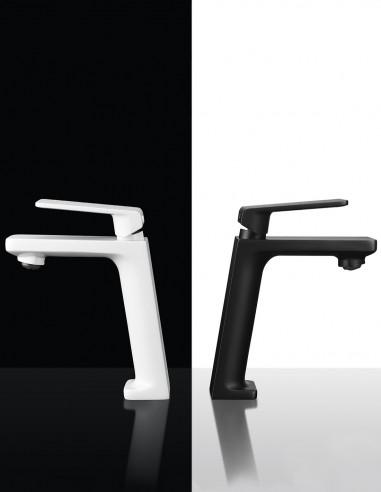 Grifo lavabo negro alto modelo FIYI de Imex