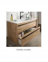 Mueble de baño suspendido Salgar detalle
