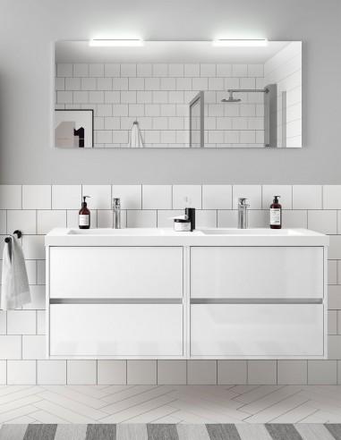 Mueble baño Noja Salgar blanco