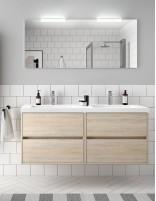 Mueble baño Noja Salgar roble ottispo