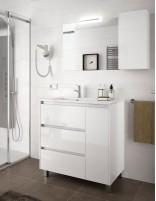 Mueble baño 3 cajones y puerta