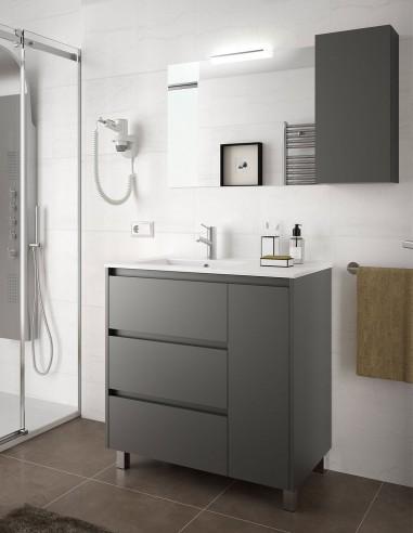 Mueble baño 3 cajones y puerta modelo Arenys de Salgar