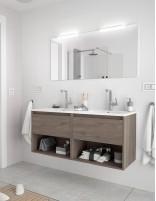 Mueble de baño Salgar Noja roble eternity