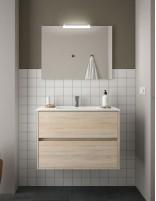 Mueble de baño Salgar modelo Noja roble caledonia