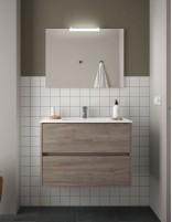 Mueble de baño Salgar modelo Noja roble eternity