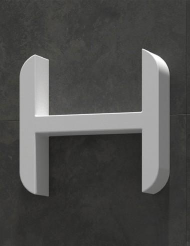 Estante resina en forma de H de Duplach