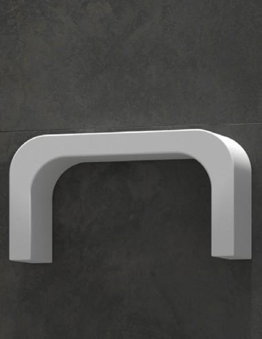 Estante para baño en forma de U corta de Duplach