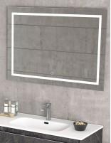 Espejo baño LED modelo rectangular de Duplach