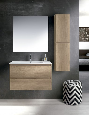 Mueble de baño 2 cajones modelo MANILA de Socimobel