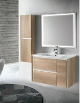 Mueble baño suspendido con lavabo modelo STYLO de Socimobel