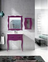 Mueble de baño estilo vintage modelo OSUNA de Socimobel