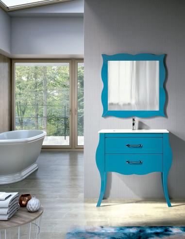 Mueble baño vintage modelo TUI