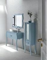 Mueble de baño vintage estilo isabelino de Socimobel