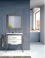 Mueble estilo vintage con lavabo modelo Diana de Socimobel