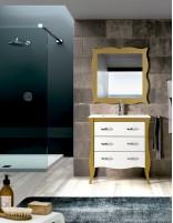 Mueble de lavabo estilo vintage modelo MORELLA de Socimobel