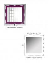 Espejo estilo vintage de Socimobel