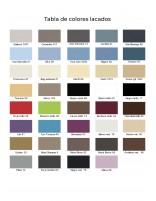Tabla de colores lacados Socimobel