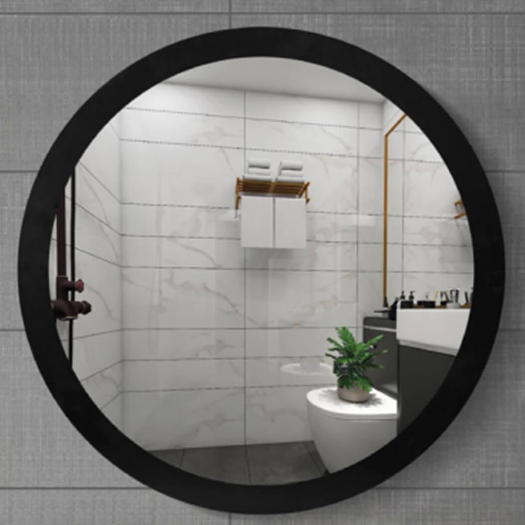 Espejo de baño negro modelo Mirko de PyP