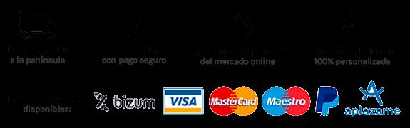 Información y métodos de pago