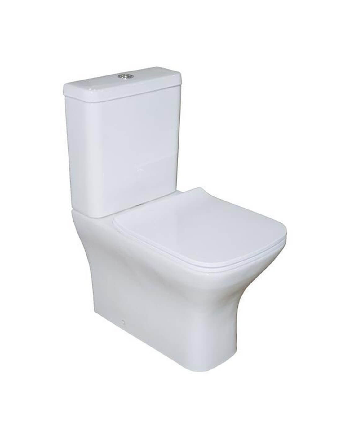 Inodoro con salida dual de BathForte