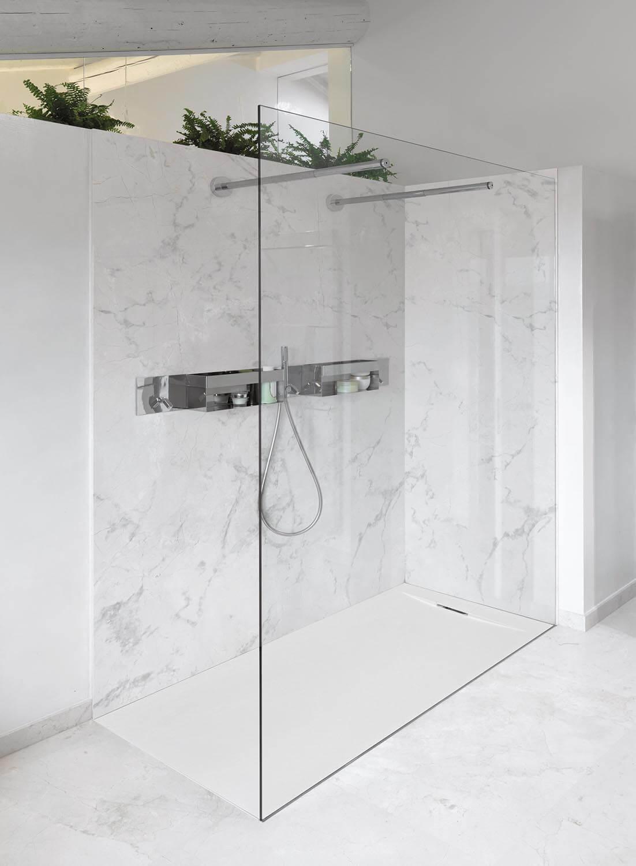 Panel de policarbonato para ducha