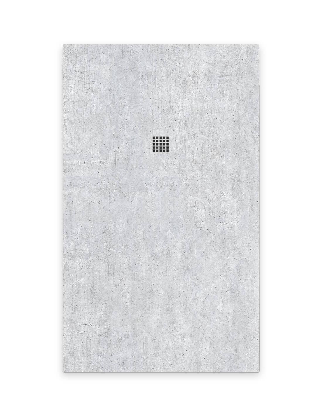 Plato de ducha de cemento